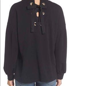 Pleione Tie Back Sweatshirt